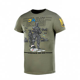 M-Tac футболка UA Side Light Olive XS