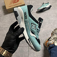🔥 Кроссовки New Balance 1500 White Blue Зеленый  🔥 Нью Бэланс 🔥 Нью Беленс женские кроссовки🔥