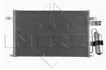 Радиатор кондиционера NRF 350017