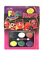 Грим для лица 6 цветов
