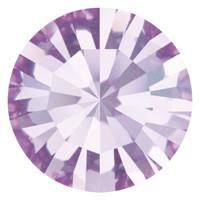 Пришивные стразы в цапах Preciosa (Чехия) ss16 Violet/серебро
