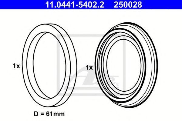 Ремкомплект суппорта Ate 11044154022