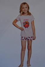 Гарний бавовняний комплект, піжама для дівчинки від Sesame street, Німеччина, 86-92 см