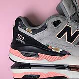 Кроссовки New Balance 530 Encap Grey Black 🔥 Нью Бэланс 🔥 Нью Беленс женские кроссовки🔥, фото 7