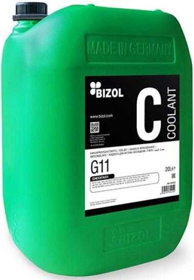 Антифриз синий концентрат G11 20л Bizol B81415