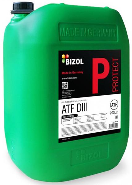 Масло трансмиссионное Protect ATF DIII 20л Bizol B87112