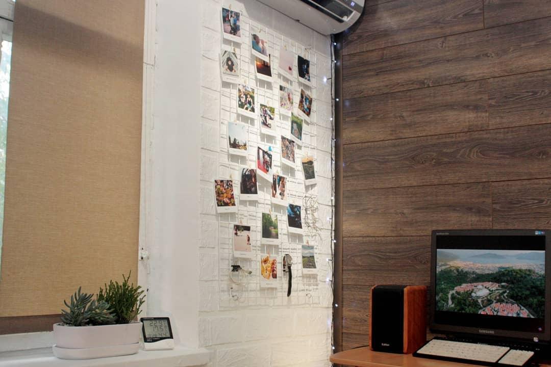 Мудборд (moodboard) доска визуализации, Прямоугольная 30*60 см
