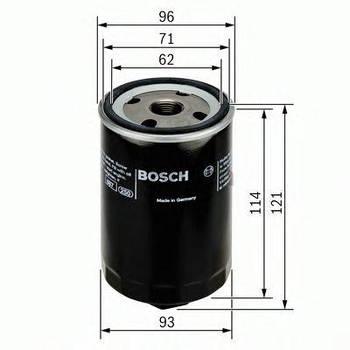 Фильтр масляный Bosch 0451103028