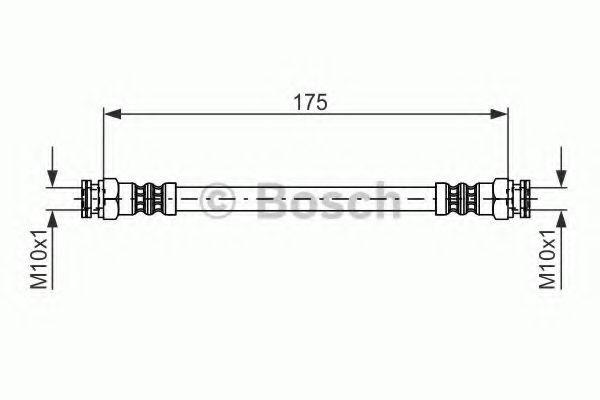 Шланг тормозной Bosch 1987476012