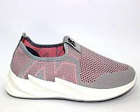 Легкие летние кроссовки из мелкой сетки женские, фото 1