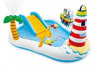 Надувной игровой центр-бассейн Intex 57162 Веселая Рыбалка, фото 1