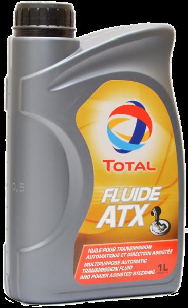 Масло трансмиссионное FLUIDE ATX Z, 1л Total 166220