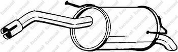Глушитель задняя часть Bosal 145125