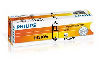Автолампа H20W PHILIPS 12025CP