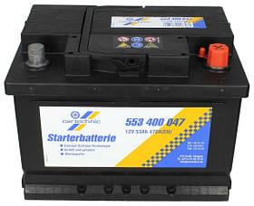 Аккумулятор ПРАВ [+] 12V 53AH 500A 242*175*175 Cartechnic CART553400047