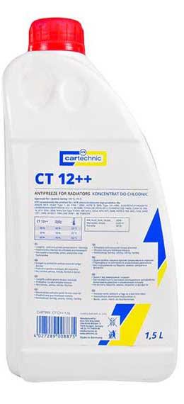 Антифриз концентрат G12++ Cartechnic CART999CT1215L