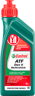 Масло трансмиссионное минеральное ATF Dex II Multivehicle, 1л Castrol 14FFDB
