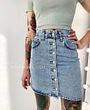 Юбка джинсовая женская 26, 27, 28, 29, 30, фото 5