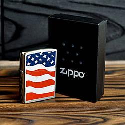 Запальничка Zippo 24375 American Flag
