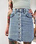 Юбка джинсовая женская 26, 27, 28, 29, 30, фото 2