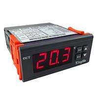 Терморегулятор цифровой XH-W2028 (12В) c выносным датчиком 1 метр