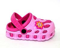 Малиновые кроксы для девочки, фото 1