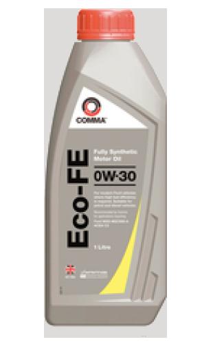 Масло синтетическое ECO-FE 0W-30, 1л COMMA ECOFE0W301L
