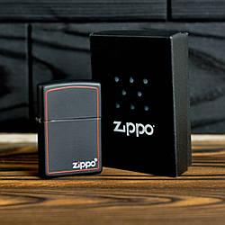 Запальничка Zippo 218 ZB CLASSIC black matte with zippo