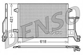 Радиатор кондиционера Denso DCN02013