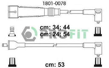 Комплект проводов зажигания PROFIT 18010078