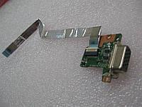 Lenovo X121E X130Е E120 E125 Плата VGA выход  (DA0FL8IB8C0) бу