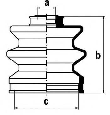 Пыльник ШРУСа RBI D1731IZ