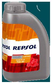 Масло трансмиссионное CARTAGO GL-4+ 75W80 CP-1, 1л Repsol RP024D51