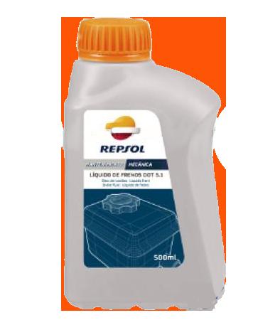 Тормозная жидкость LIQUIDO FRENOS DOT-5.1, 0.5л Repsol RP701B96