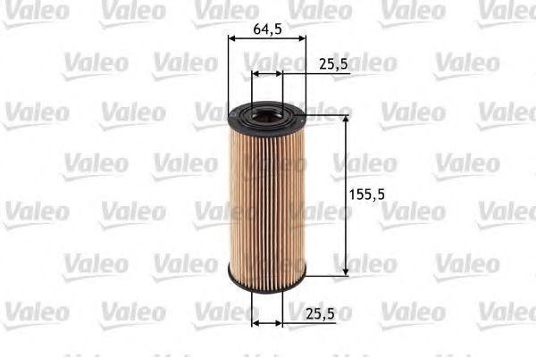 Фильтр масляный Valeo 586502