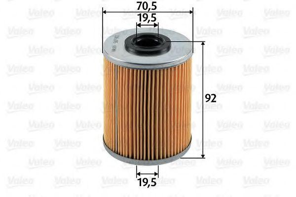 Фильтр топливный Valeo 587902