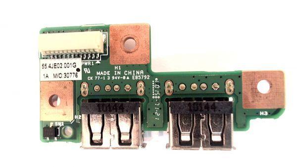 MEDION AKOYA P7618 MD98580 E7216 e7214 MD98550 Плата USB (55.4je02.001g) бу