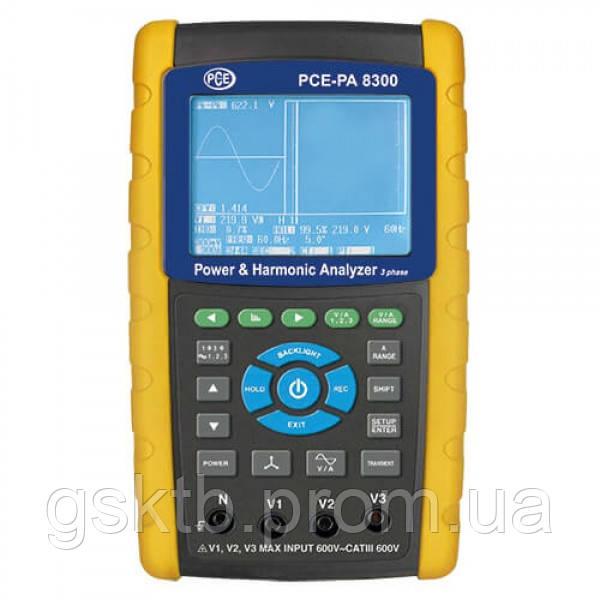 PCE-PA 8300 анализатор качества электроэнергии с функцией записи (Германия)