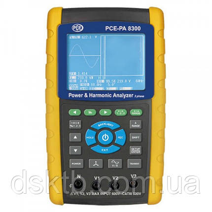 PCE-PA 8300 анализатор качества электроэнергии с функцией записи (Германия), фото 2