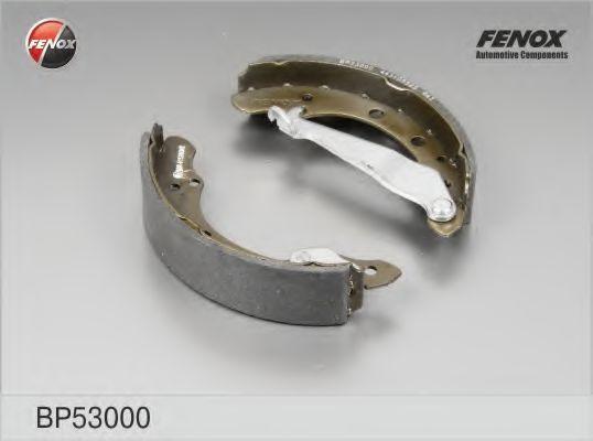 Тормозные колодки барабанные FENOX BP53000