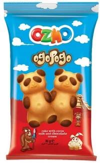 Бісквіт ведмедик «Ozmo ogopogo» 30 гр 24 шт