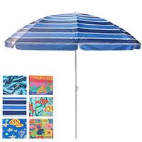 Зонт для пляжа диаметр 2м, фото 1