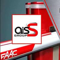 Шлагбаум FAAC В614 24В (стрела круглая 5м) (100% интенсивность) электромеханический
