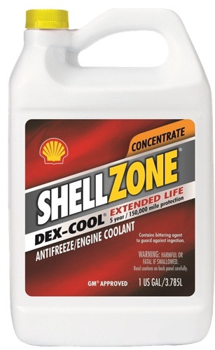 Антифриз SHELLZONE красный 3.8л Shell Shell 9404006021