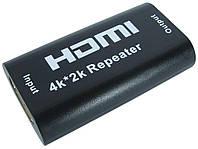 Усилитель сигнала HDMI, TRY PLUG Repeater 4K-2K, черный