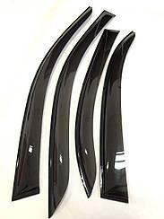 Ветровики Renault Duster 2011- Дефлекторы на окна TT