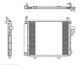 Радиатор кондиционера HCC 976060X000