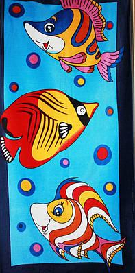 Пляжное полотенце Флаундер
