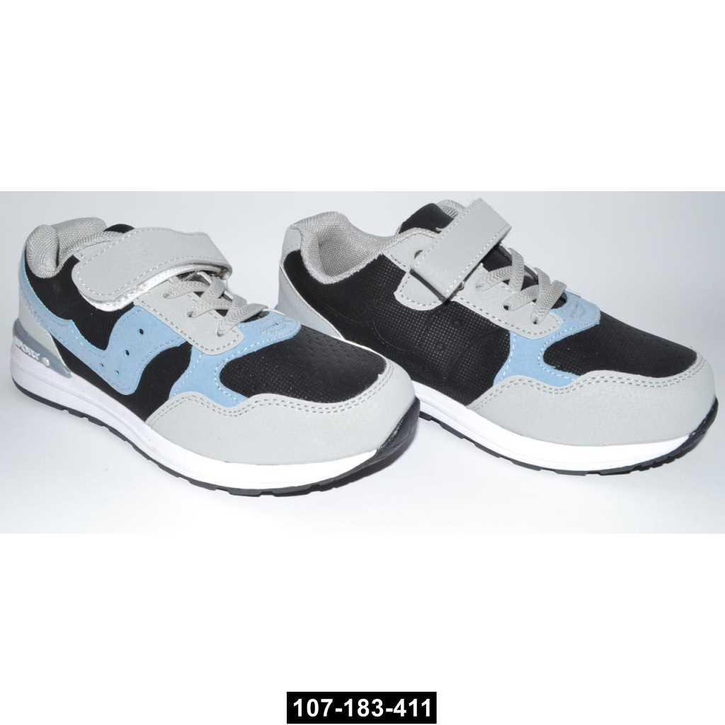 Детские кроссовки, 34 размер / 21 см, кожаная стелька, супинатор, 107-183-411
