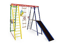Спортивный детский комплекс (детская площадка) Sport Baby с Горкой 145/127/130
